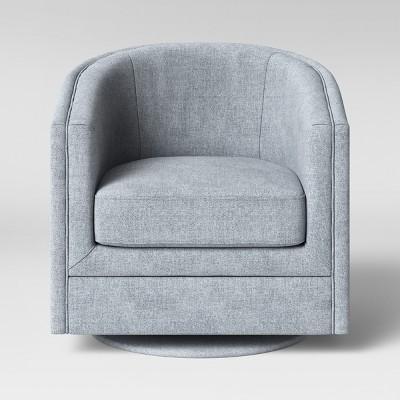 Berwick Barrel Swivel Chair - Threshold™ : Target