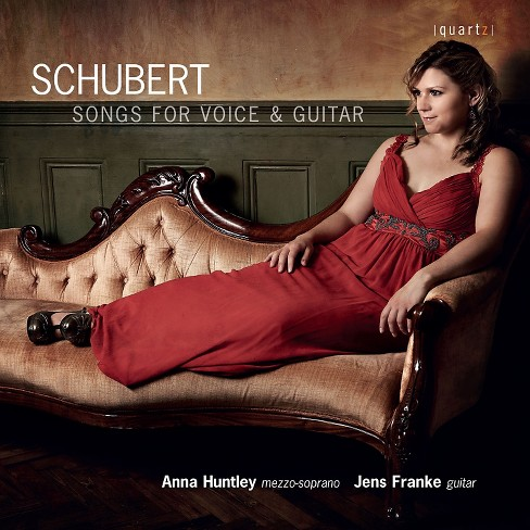Anna huntley - Schubert:Songs for voice & guitar (CD) - image 1 of 1