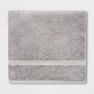 Soft Solid Bath Towel Gray - Opalhouse™