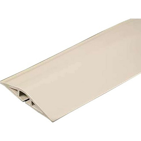 C2G 15ft Wiremold Corduct Overfloor Cord Protector - Ivory - Ivory - image 1 of 1