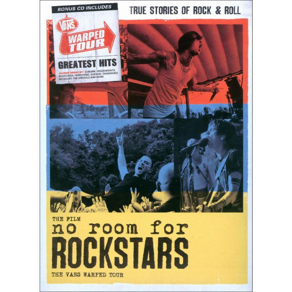 Vans Warped Tour:No Room For Rockstar (Dvd)
