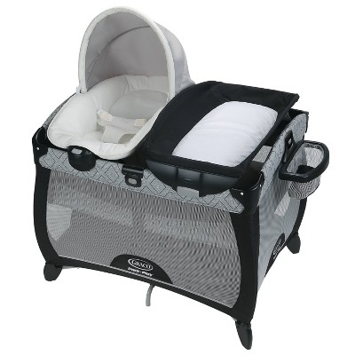 Graco Pack 'n Play Quick Connect Playard with Portable Seat - Asher