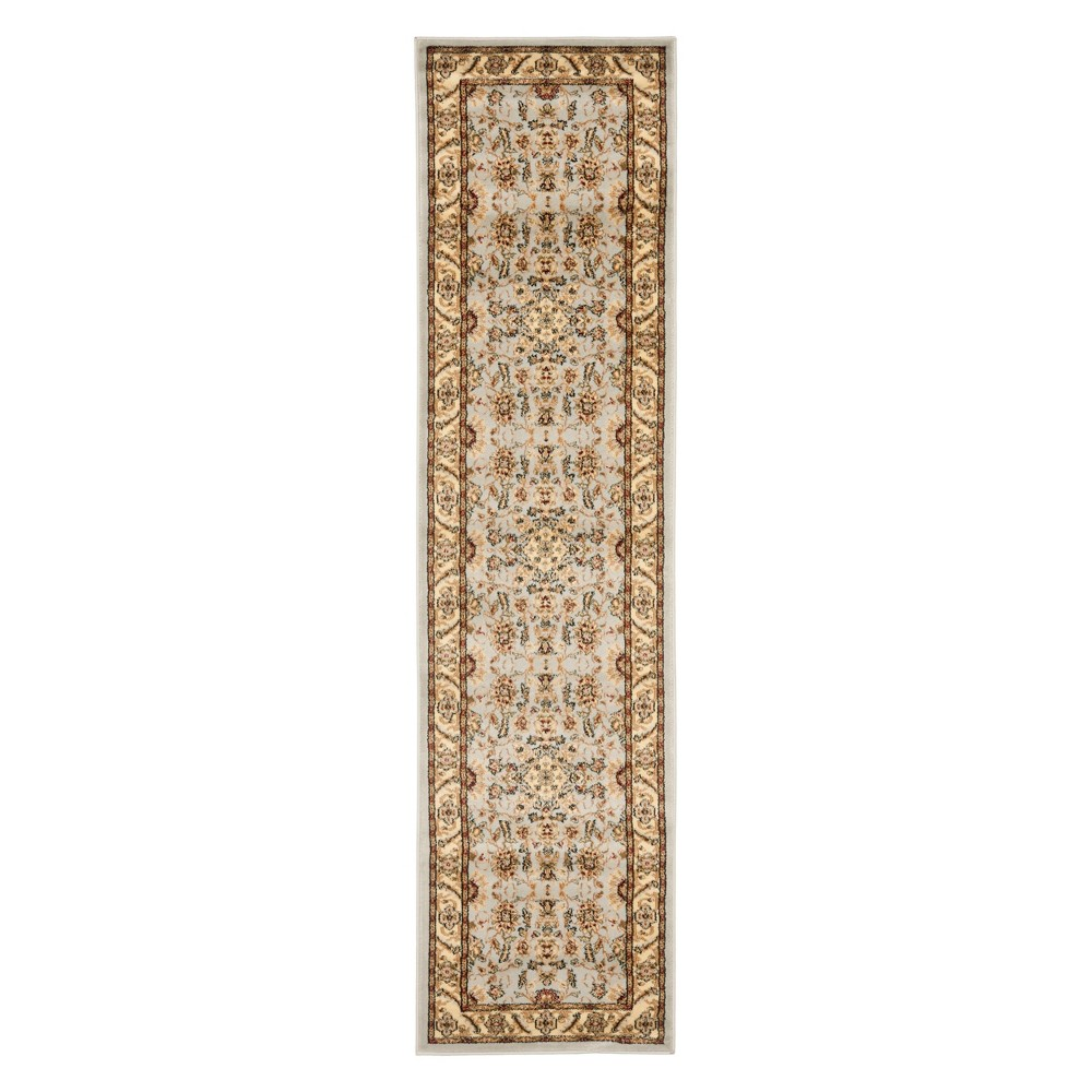 23X11 Floral Loomed Runner Ivory/Tan - Safavieh Coupons