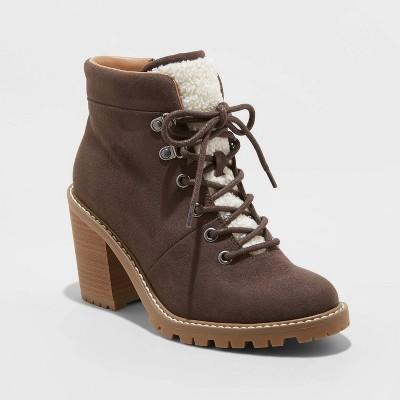 Women's Tipper Heeled Hiking Boots - Universal Thread™