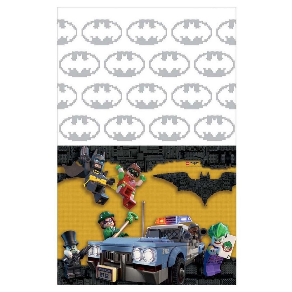 Image of Batman Plastic Table Cover, Multi-Colored
