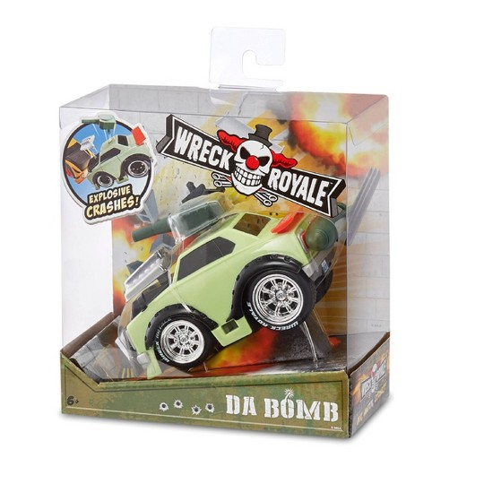 Wreck Royale Exploding Crashing Da Bomb Race Car image number null