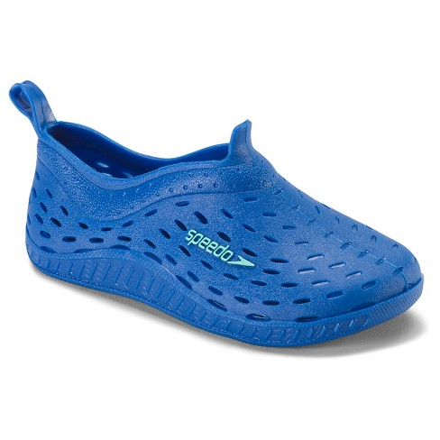 72510f20be Speedo Toddler Kids Jellies Water Shoes - Blue (Small) : Target