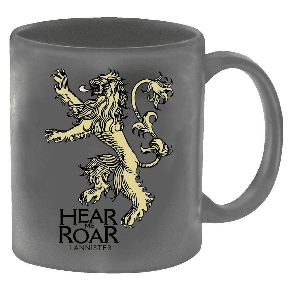 Image of Game of Thrones Coffee Mug - Lannister, Gray