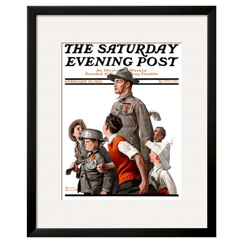 "Art.com ""When Johnny Comes Marching Home"" -Framed Print - image 1 of 2"