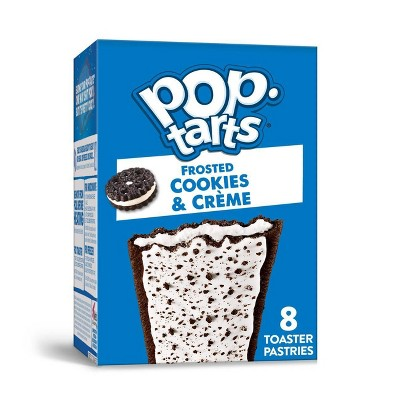 Pop-Tarts Frosted Cookies & Cream - 8ct/13.5oz - Kellogg's