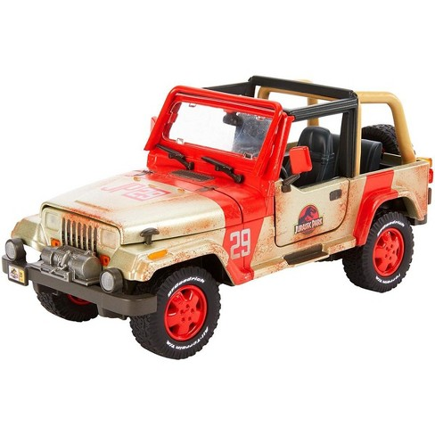 Jurassic World Fallen Kingdom Jeep Wrangler Diecast Vehicle - image 1 of 4