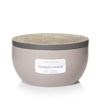 Yankee Candle 3-Wick Ceramic Bowl Candle Driftwood 7.5oz