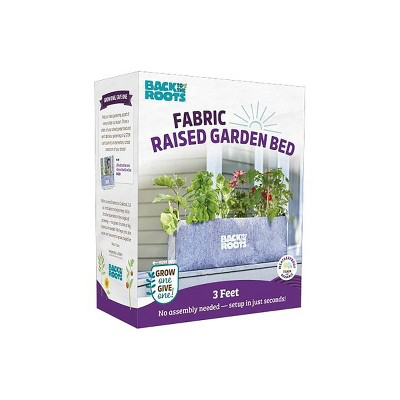 Back to the Roots Fabric Raised Garden Bed Planter