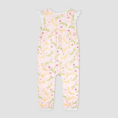 Burt's Bees Baby® Baby Girls' Dragonfly Life Jumpsuit - Pink