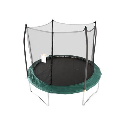 Skywalker Trampolines SWTC100G 10-Inch Round Trampoline with Enclosure, Green