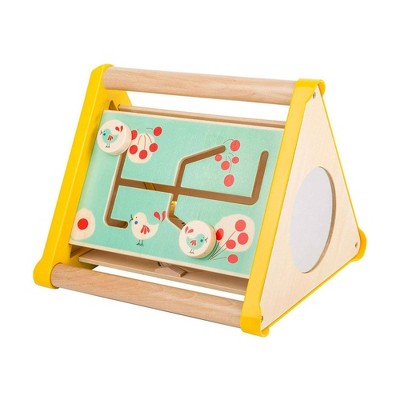 """Small Foot Wooden Toys Motor Skills Triangle 3 In 1 """"Move It!"""" Playset"""