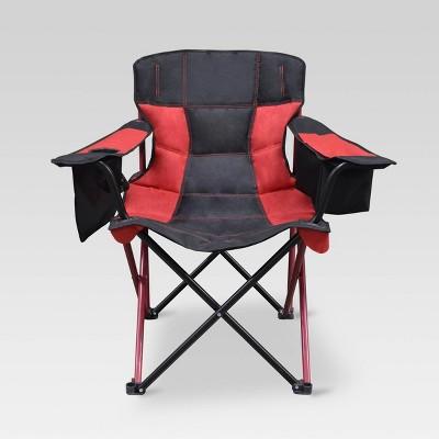 Outdoor Patio Elite Quad Chair Cherry Red - Caravan