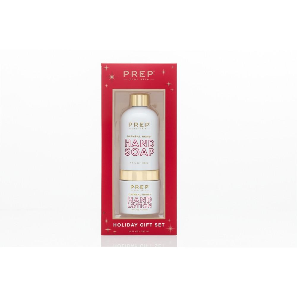 Prep Cosmetics Oatmeal Honey Soap and Lotion Set - 10oz