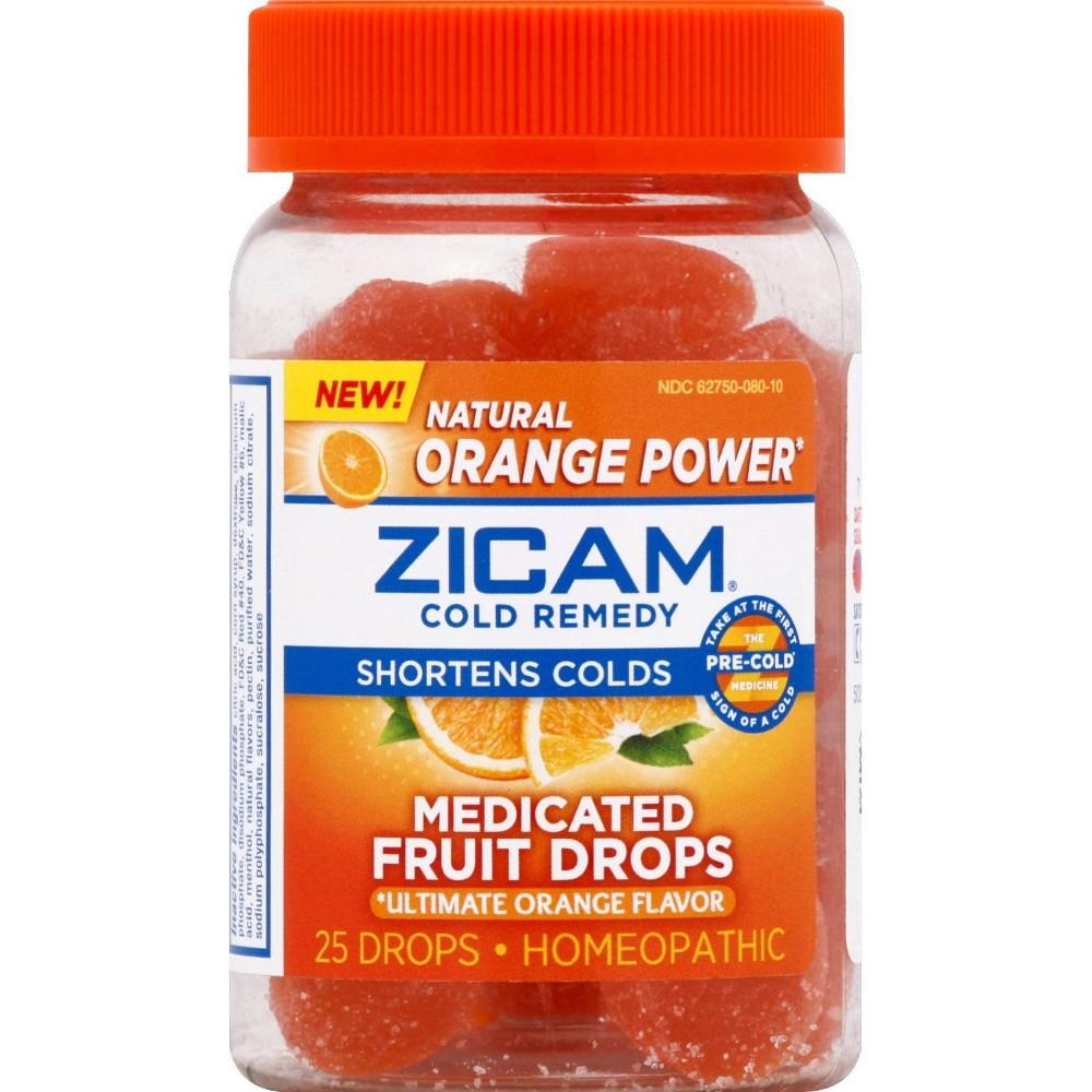 Zicam Medicated Fruit Drops - Citrus - 6.4oz