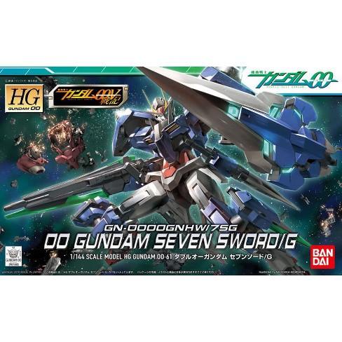 Bandai Hobby Gundam 00 #61 Gundam Seven Sword/G HG 1/144 Model Kit - image 1 of 3