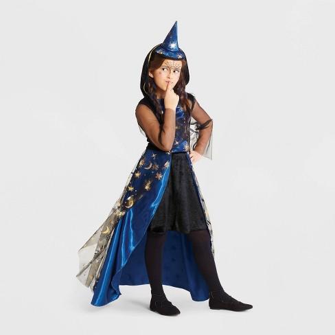 Girls' Mystic Moonlight Witch Halloween Costume - Hyde & EEK! Boutique™ - image 1 of 1