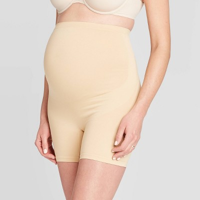 Belly Bandit Basics Maternity Support Shorts - Belly Bandit Nude L