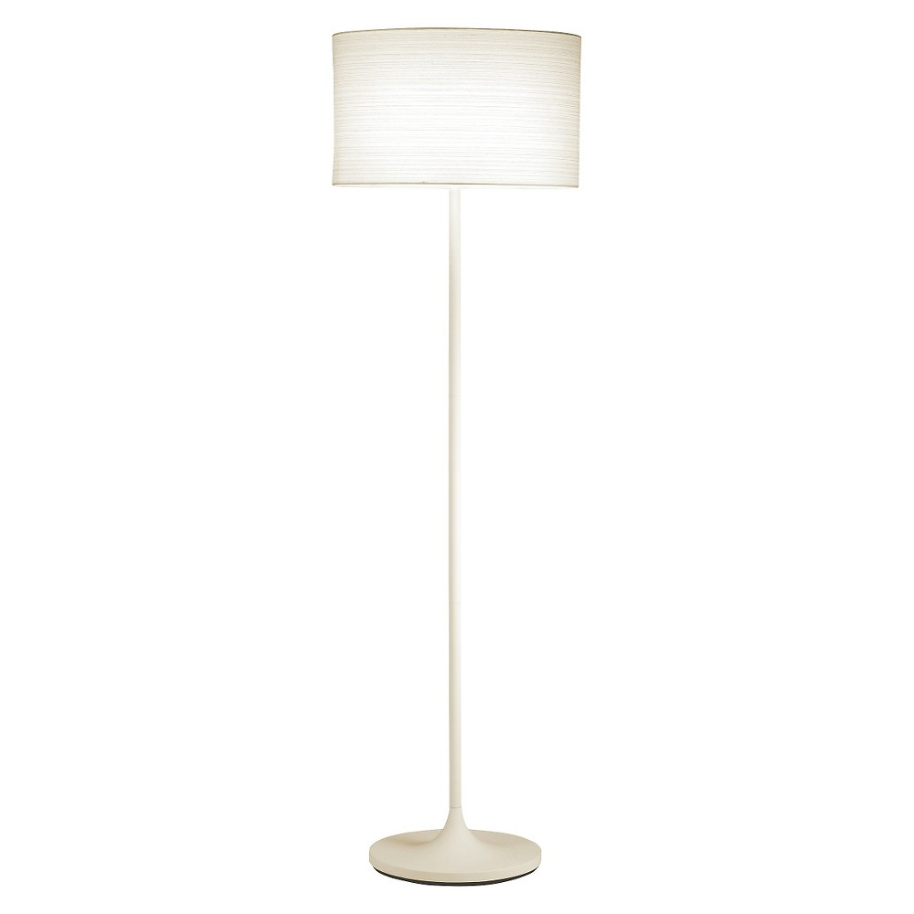 Image of Adesso Oslo Floor Lamp (Lamp Only) - White