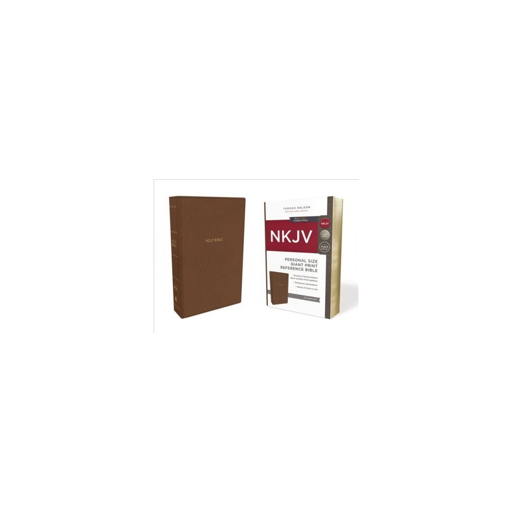 Holy Bible : New King James Version, Tan, Leathersoft, Personal Size Reference Bible: Red Letter Edition