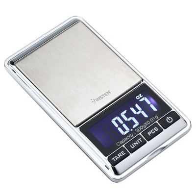 Insten Mini Digital Pocket Scale in Grams & Ounces - Portable & Multifunction for Jewelry - 0.01g Precise with 300g Capacity