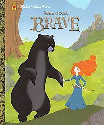 Brave ( Little Golden Books)(Hardcover)by Disney/Pixar