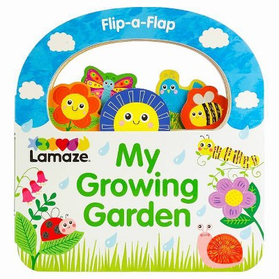 My Growing Garden - (Lamaze Activity Books) by  Rose Colombe (Board Book)