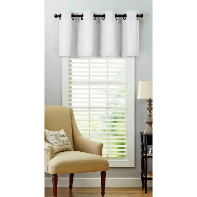 Regal Home Collections Oversized Grommet Top Window Valance