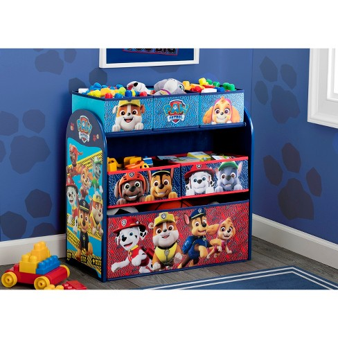 Paw Patrol Kids Multi Bin Toy Organizer Nick Jr