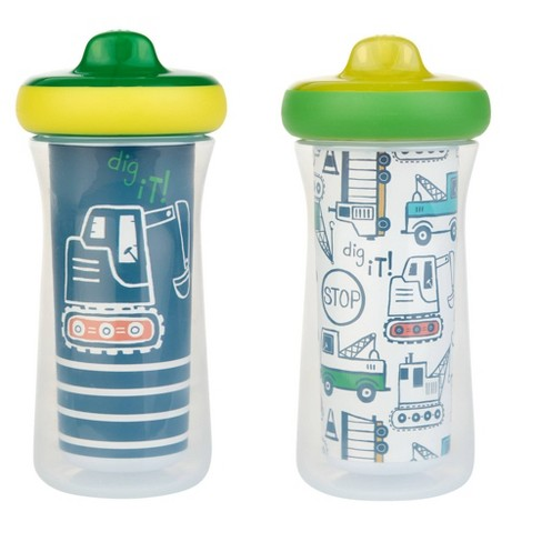 The First Years 2pk Insulated Sippy Cups - 12+m - Blue - image 1 of 4