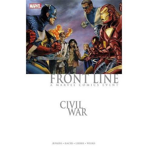 Civil War: Front Line - (Paperback) - image 1 of 1