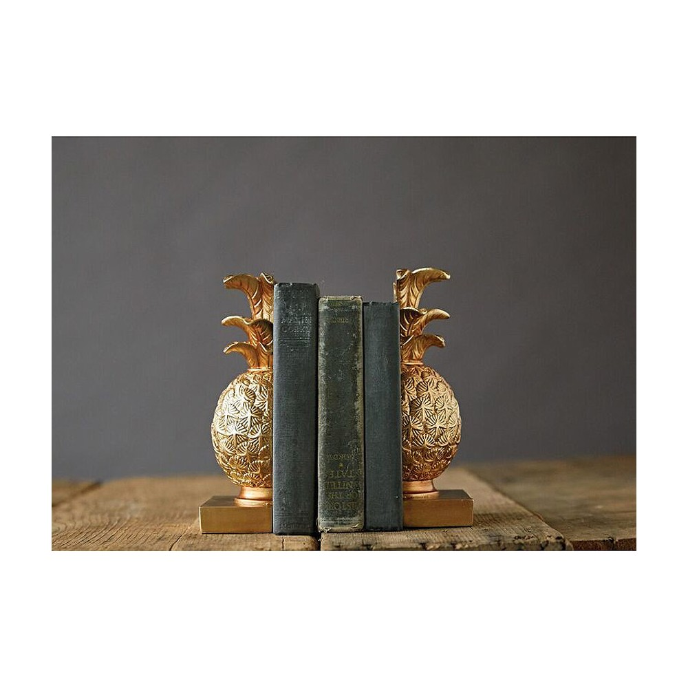 Pineapple Bookends (8.75) - 3R Studios
