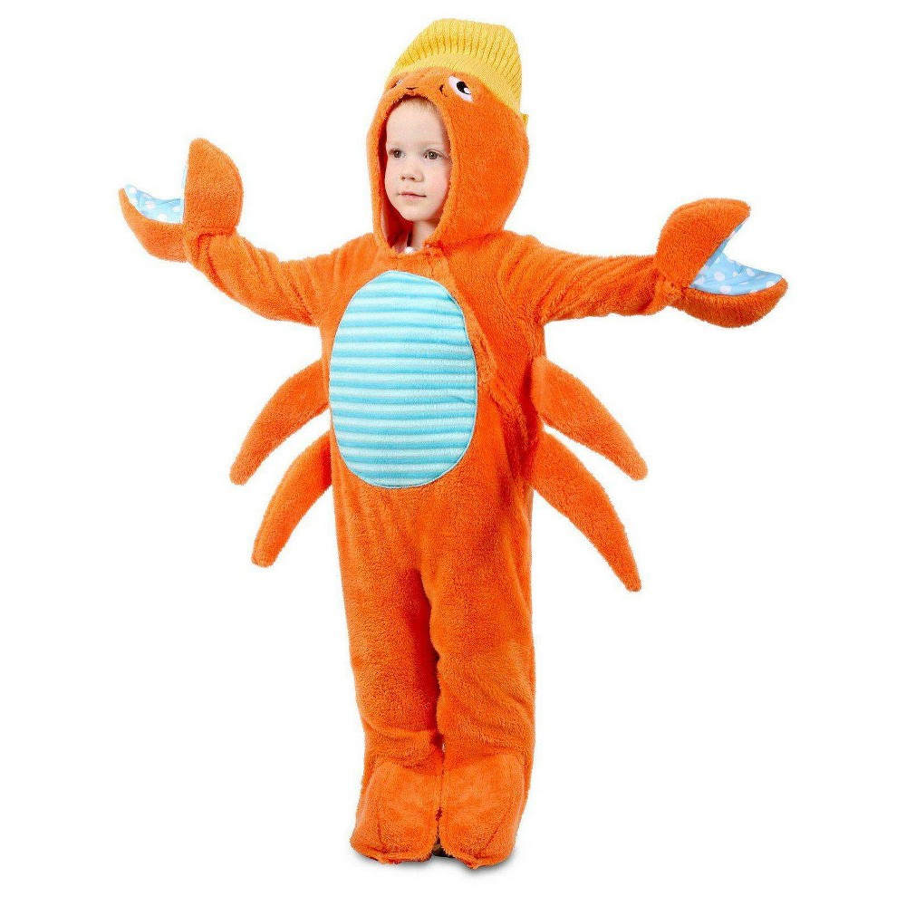 Image of Halloween Baby Crabby Halloween Costume 12-18M, Adult Unisex, MultiColored