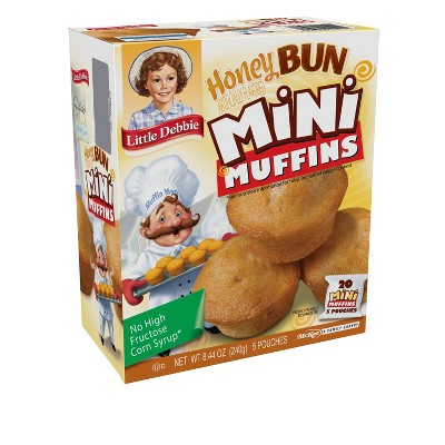 Little Debbie Honey Bun Mini Muffins - 5pk/8.44oz