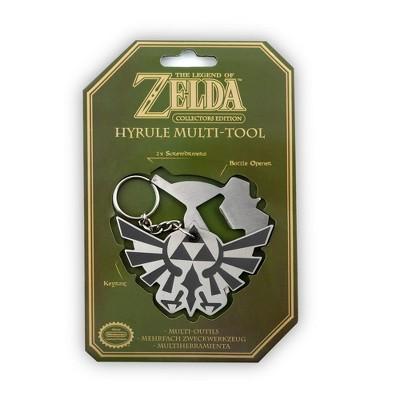 Paladone The Legend Of Zelda Hyrule Crest Multi-Tool Keychain