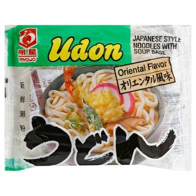 Myojo Udon Oriental Flavor Japanese Style Noodles Soup 7.28oz