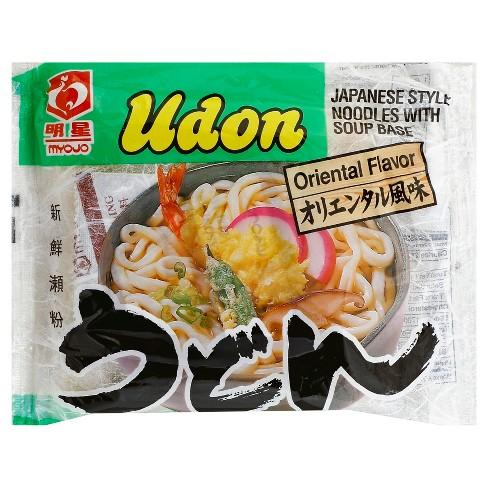 Myojo Udon Oriental Flavor Japanese Style Noodles Soup 7.28oz - image 1 of 3