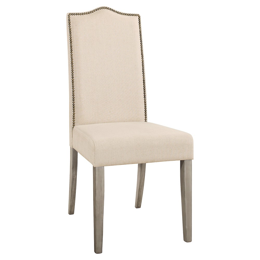 Image of Florence Parson Chair Weathered Heirloom Gray - Carolina Cottage