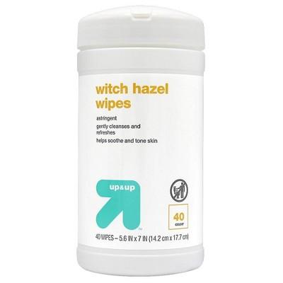 Witch Hazel Wipe - 40ct - up & up™