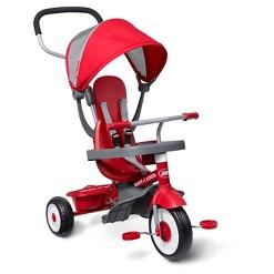 Radio Flyer 4-in-1 Stroll 'N Trike - Red, Kids Unisex