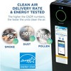 """Germ Guardian CDAP4500BCA Smart Elite 4-in-1 True HEPA Air Purifier with UV Sanitizer. Odor Reduction and WiFi, 22"""" Tower, Black - image 4 of 4"""