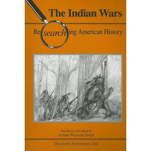 Indian Wars - (Researching American History) (Paperback) - image 1 of 1