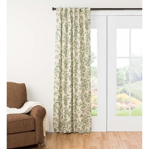 Botanical Toile Insulated Double Lined