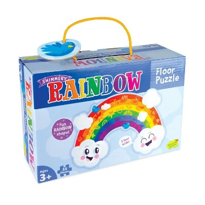 MindWare Rainbow Die Cut Floor Puzzle - 35pc