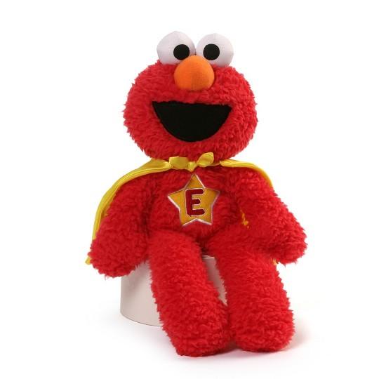 Sesame Street Sesame Street Elmo Superhero Take Along Plush image number null