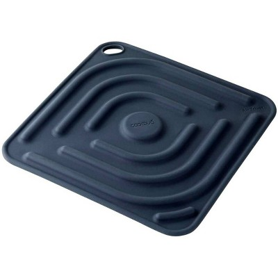 Cookduo Air Trivet - Dark Blue Silicone Trivet and Pot Holder